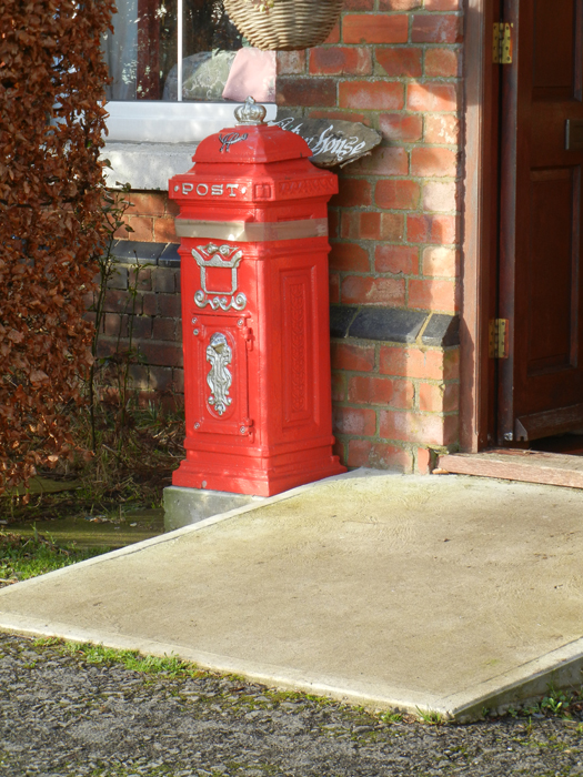 Domestic postbox